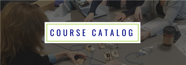 Course Catalog (header image contains teachers in a professional development workshop)