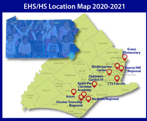 EHS/HS Location Map 2020-21