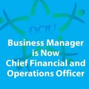 Business Manager is Now CFOO