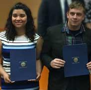 Delaware County Council Recognizes DCTS Students and Teachers